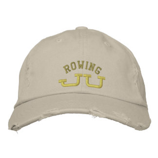 JU Rowing Embroidered Hat