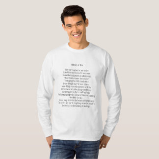 Juan C. Diaz Inspirational Poem Shirts