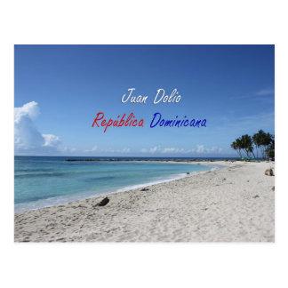 Juan Dolio República Dominicana Español Postcard