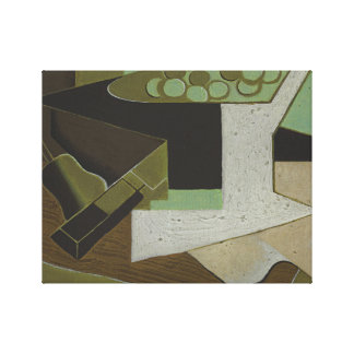 Juan Gris - Bunch of Grapes and Pear Canvas Print