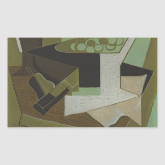 Juan Gris - Bunch of Grapes and Pear Sticker