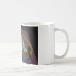 Juan Gris - Checkerboard and Playing Cards Coffee Mug