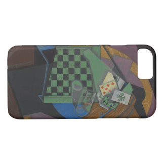 Juan Gris - Checkerboard and Playing Cards iPhone 8/7 Case