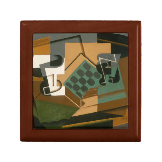 Juan Gris - Chessboard, Glass, and Dish Gift Box