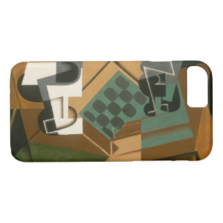 Juan Gris - Chessboard, Glass, and Dish iPhone 8/7 Case