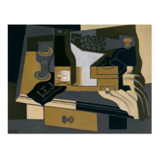 Juan Gris - Coffee Grinder Postcard