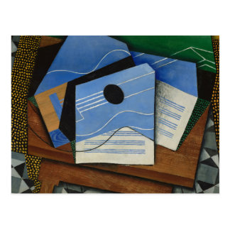 Juan Gris - Guitar on a Table Postcard