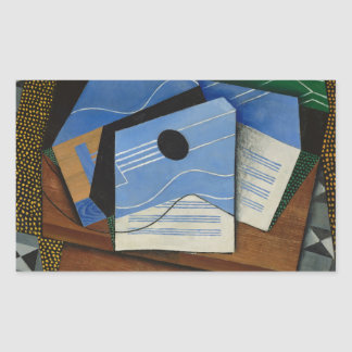 Juan Gris - Guitar on a Table Sticker