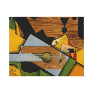 Juan Gris - Still Life with a Guitar Canvas Print