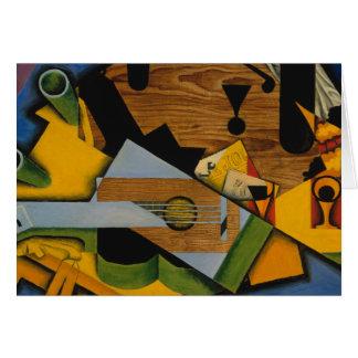 Juan Gris - Still Life with a Guitar Card