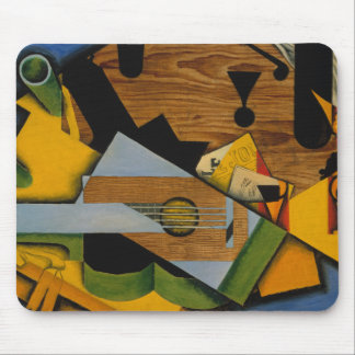 Juan Gris - Still Life with a Guitar Mouse Pad