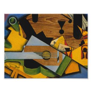 Juan Gris - Still Life with a Guitar Photo Print
