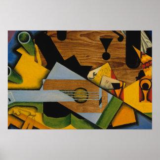 Juan Gris - Still Life with a Guitar Poster