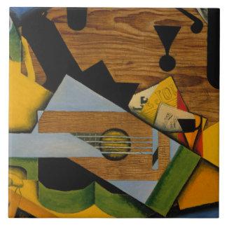 Juan Gris - Still Life with a Guitar Tile