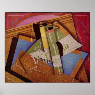 Juan Gris - Still Life with Bordeau Winde Poster