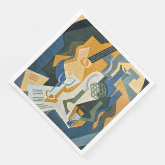Juan Gris Still Life with Fruit Dish and Mandolin Paper Napkin