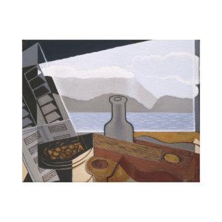 Juan Gris - The Open Window Canvas Print