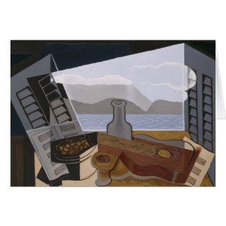 Juan Gris - The Open Window Card