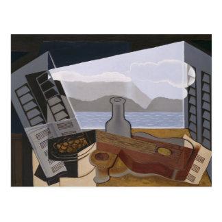 Juan Gris - The Open Window Postcard