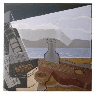 Juan Gris - The Open Window Tile