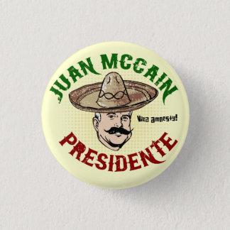 Juan McCain Button