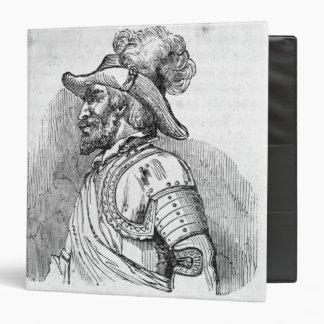 Juan Ponce de Leon 3 Ring Binder