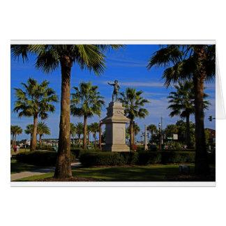 Juan Ponce de Leon -horizontal Card
