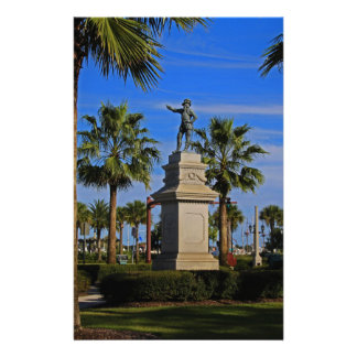 Juan Ponce de Leon -horizontal Customized Stationery