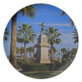 Juan Ponce de Leon -horizontal Plates