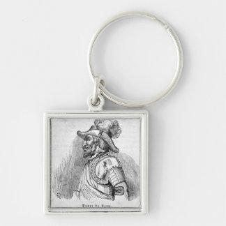 Juan Ponce de Leon Keychain