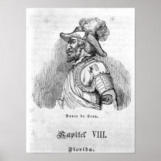 Juan Ponce de Leon Poster