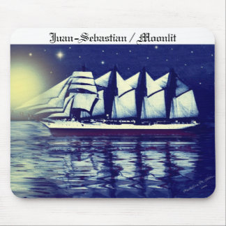 Juan-Sebastian / Moonlit Mouse Pad