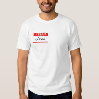 Juan Tee-shirts