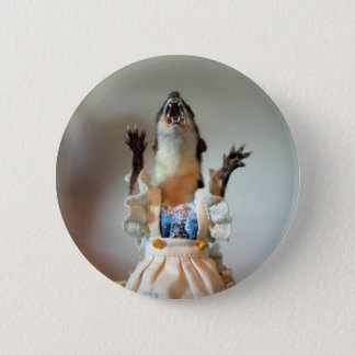 Juanita Weasel Button
