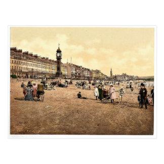 Jubilee Clock Tower, Weymouth, England classic Pho Postcard