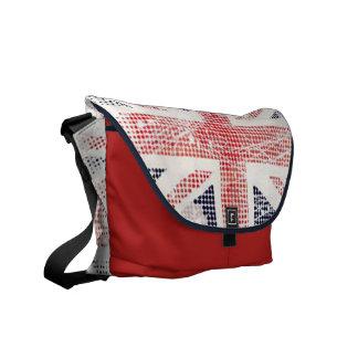 jubilee - Union Jack Vector Cushion Courier Bag