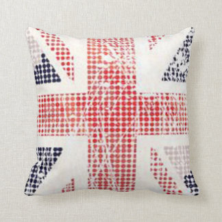 Jubilee - Union Jack Vector Cushion Throw Pillows
