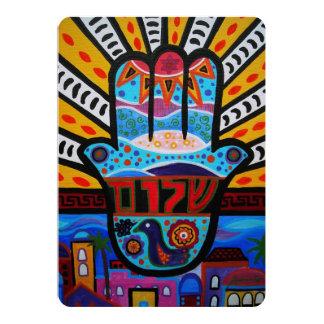 JUDAIC HAMSA BAT BAR MITZVAH INVITATION