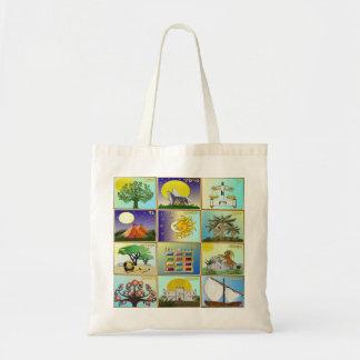 Judaica 12 Tribes Of Israel Art Print Tote Bag