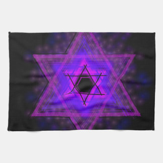 Judaica,... glowing in darkness kitchen towel