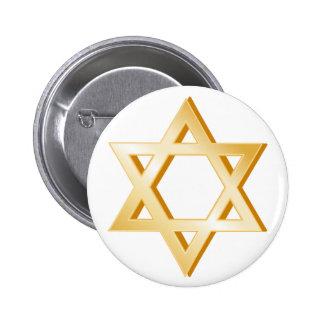 Judaism Symbol 2 Inch Round Button