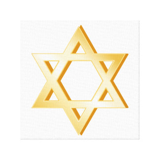 Judaism Symbol Canvas Print