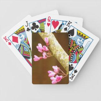 Judas Tree Flowers Playing Cards