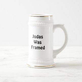 Judas Was Framed Beer Steins