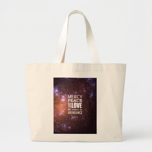 Jude 1:2 tote bags