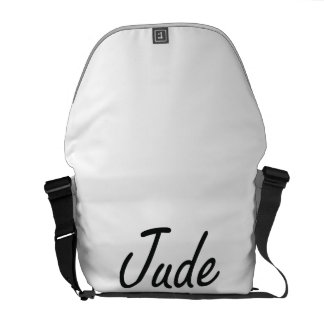 Jude Artistic Name Design Courier Bags
