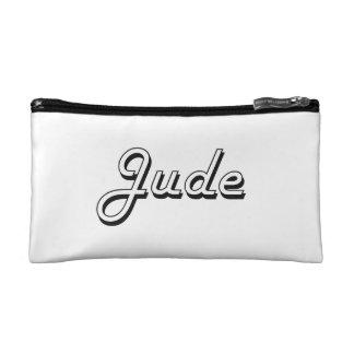 Jude Classic Retro Name Design Cosmetic Bags