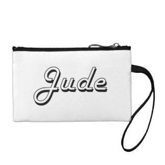 Jude Classic Retro Name Design Change Purse
