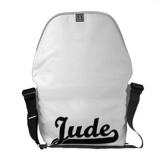 Jude Classic Retro Name Design Commuter Bag