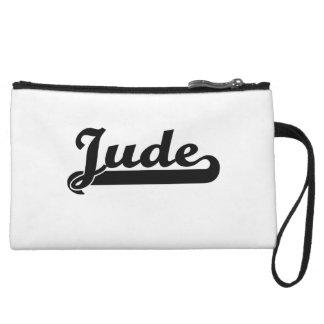Jude Classic Retro Name Design Wristlet Clutches